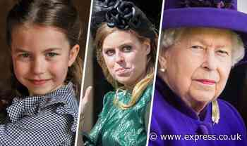Queen heartbreak: How unfair rule means Princess Beatrice and Princess Charlotte miss out - Express