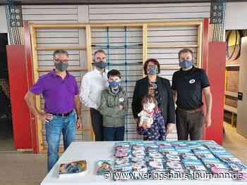 Maulburg: Masken für die Kinder gespendet - Maulburg - www.verlagshaus-jaumann.de