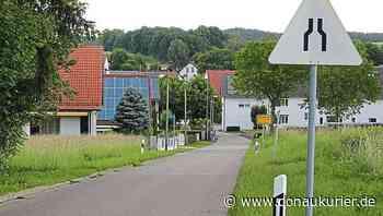 Aresing: Verengung der Fahrbahn soll jetzt helfen - Gemeinde will die Ortseinfahrt in Unterweilenbach an der Straße nach Flammensbach entschärfen - donaukurier.de