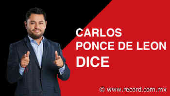 Pumas se desmorona - Carlos Ponce de Leon   RÉCORD - Diario Deportivo Récord