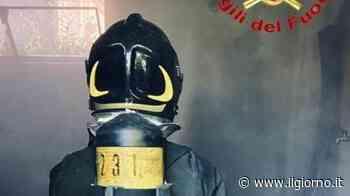 Calolziocorte, incendio in un magazzino in via Colleoni - IL GIORNO