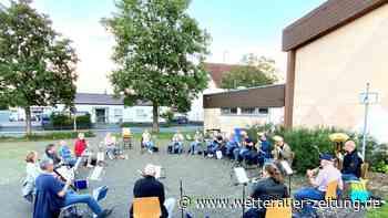 Proben auf dem Parkplatz - Wetterauer Zeitung