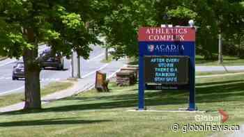 Wolfville, Acadia prepare for unique school year | Watch News Videos Online - Globalnews.ca