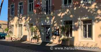 FLORENSAC - Aménagement provisoire pour l'entrée de la mairie - Hérault-Tribune