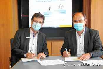 Markdorf: Mit Unterschriften ist Zusammenarbeit für mehr Klimaschutz besiegelt - SÜDKURIER Online