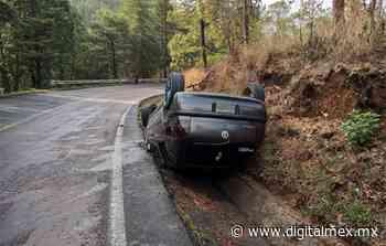 #DeÚltimoMinuto: Volcadura automovilística en la #Toluca-Ciudad Altamirano - DigitalMex