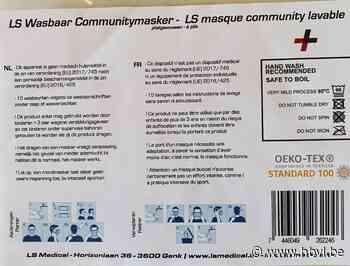Mondmasker dragen in gemeentelijke gebouwen - Het Belang van Limburg