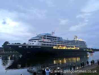 Azamara Journey cruise ship arrival to River Clyde delayed - Glasgow Times