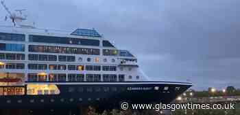 Another chance to spot cruise ship sail up River Clyde - Glasgow Times