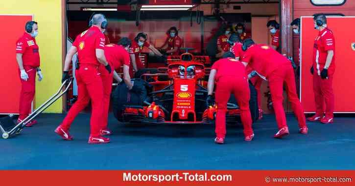 Sebastian Vettel: So lief der erste Test nach dem angekündigten Ferrari-Aus - Motorsport-Total.com