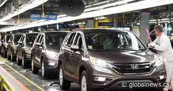 3 workers at Alliston, Ont., Honda plant test positive for coronavirus - Globalnews.ca