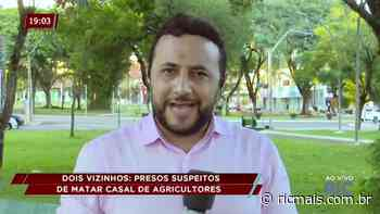 Dois Vizinhos: presos suspeitos de matar casal de agricultores - RIC Mais - RIC Mais Paraná