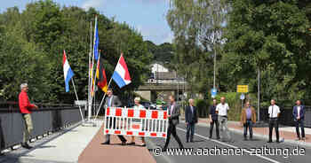 Sanierung abgeschlossen: Brücke über die Wurm zwischen Herzogenrath und Kerkrade freigegeben - Aachener Zeitung