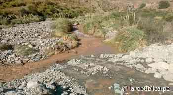 Denuncian que se viene contaminando el río Torata con trabajos de la mina Cuajone - LaRepública.pe