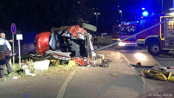 27-Jähriger schwerverletzt nach Autounfall in Rheinbach - WDR Nachrichten