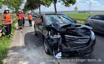 Fahrer bleiben unverletzt: Auffahrunfall zwischen Rheinbach und Swisttal - General-Anzeiger