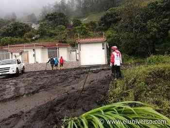 Lluvias continúan afectando a Baños; vía a Puyo se mantiene cerrada - El Universo