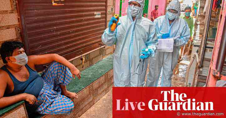 Coronavirus live news: India records its highest daily rise in cases; EU border rules could bar US visitors