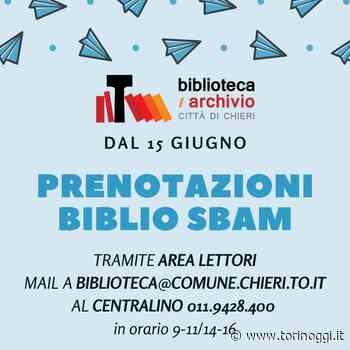Chieri, di nuovo accessibile il Punto Accoglienza della Biblioteca - TorinOggi.it