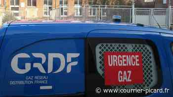 La rue de Verdun à Amiens bloquée à la circulation après une fuite de gaz - Courrier Picard