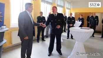 Hagenow: Polizeichef an vorderster Front   svz.de - svz.de