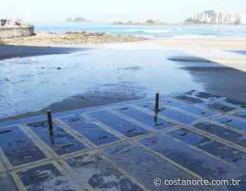 Guarujá multa Sabesp por vazamento de esgoto na Praia de Pitangueiras - Jornal Costa Norte