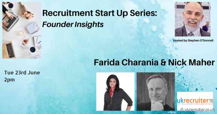 Recruitment Start Up Series; Founder Stories Episode Six (video)