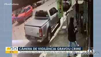 Comerciante que foi baleado durante discussão em Cristalina morre após dois dias internado - G1