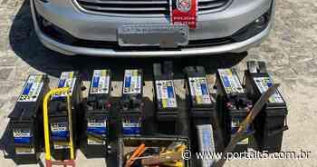 Presos suspeitos de furtar baterias em loja de Bayeux - Portal T5