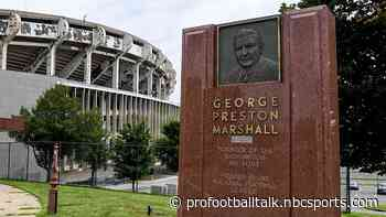 Washington is removing George Preston Marshall from Ring of Fame