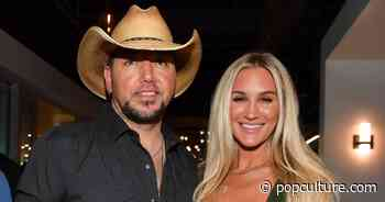 Jason Aldean Celebrates Wife Brittany's Birthday With a Surprise Party - PopCulture.com