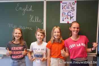 Leerlingen Sint-Barbaracollege starten met Engels