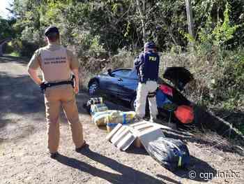 Carro com 136 quilos de maconha é apreendido em Irati - CGN