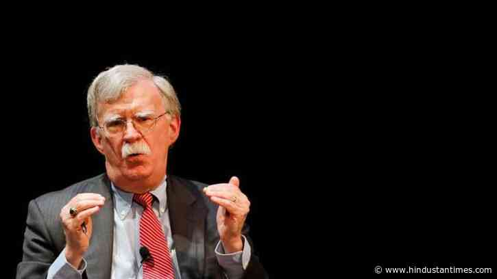 Pompeo compares ex-security advisor John Bolton to Edward Snowden - Hindustan Times