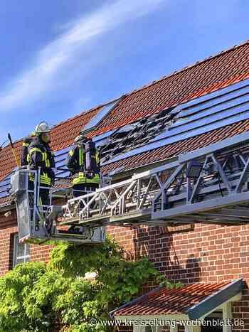 Photovoltaikanlage in Jork in Brand geraten - Jork - Kreiszeitung Wochenblatt