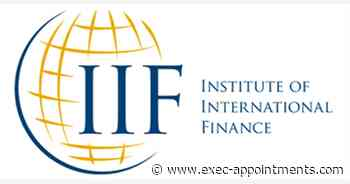Institute of International Finance (IIF): Research Analyst