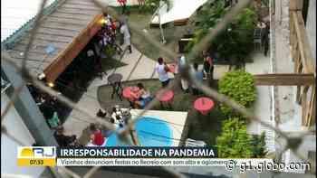 Moradores do Recreio dos Bandeirantes denunciam festas promovidas por vizinhos durante pandemia - G1