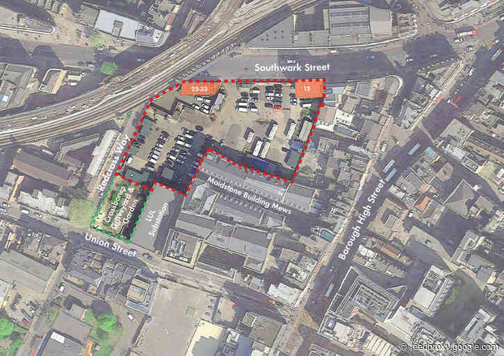 Former Jubilee line construction site to be redeveloped