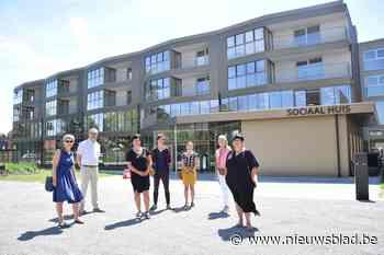 Sociaal Huis, Huis van het Kind en tien sociale flats klaar