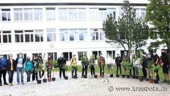 Schüler in Mittenwald Obstbäume Schulabschluss - Kreisbote