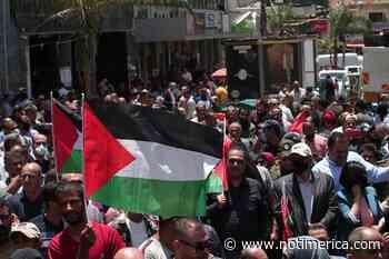 O.Próximo.- Miles de palestinos protestan en Jericó contra el plan de anexión israelí de Cisjordania - www.notimerica.com