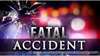 Nanjemoy man dies in a single-vehicle crash in Indian Head - The Southern Maryland Chronicle