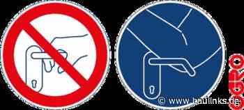 Hygienetürdrücker à la Ogro