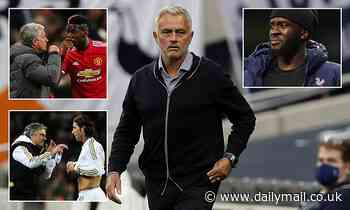 After Tanguy Ndombele spat, how have previous feuds panned out for Jose Mourinho?