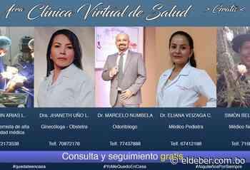 Médicos de Aiquile inician consultas vía WhatsApp por la cuarentena | EL DEBER - EL DEBER