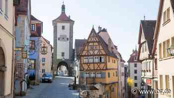 Existenzkampf statt Touristenflut in Rothenburg ob der Tauber - BR24