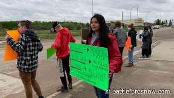 Meadow Lake rallies in support of Black Lives Matter movement - battlefordsNOW