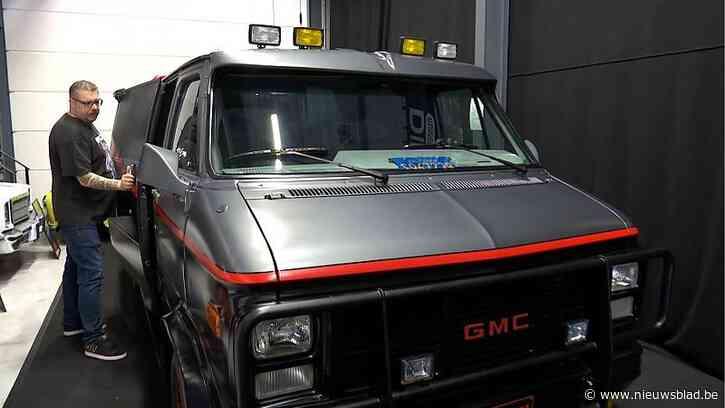 Busje van The A-team, de auto van Mister Bean en meer in impressionante collectie filmwagens