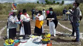 El Inti Raymi hizo una pausa este año en Atuntaqui por la pandemia - El Universo
