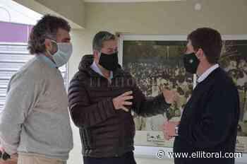 Caussi visitó San Jerónimo del Sauce y habló sobre obras de electrificación del Área Industrial - El Litoral